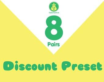 Discount Preset for 8 pair