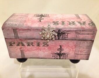 Paris In Pink Decorative Box