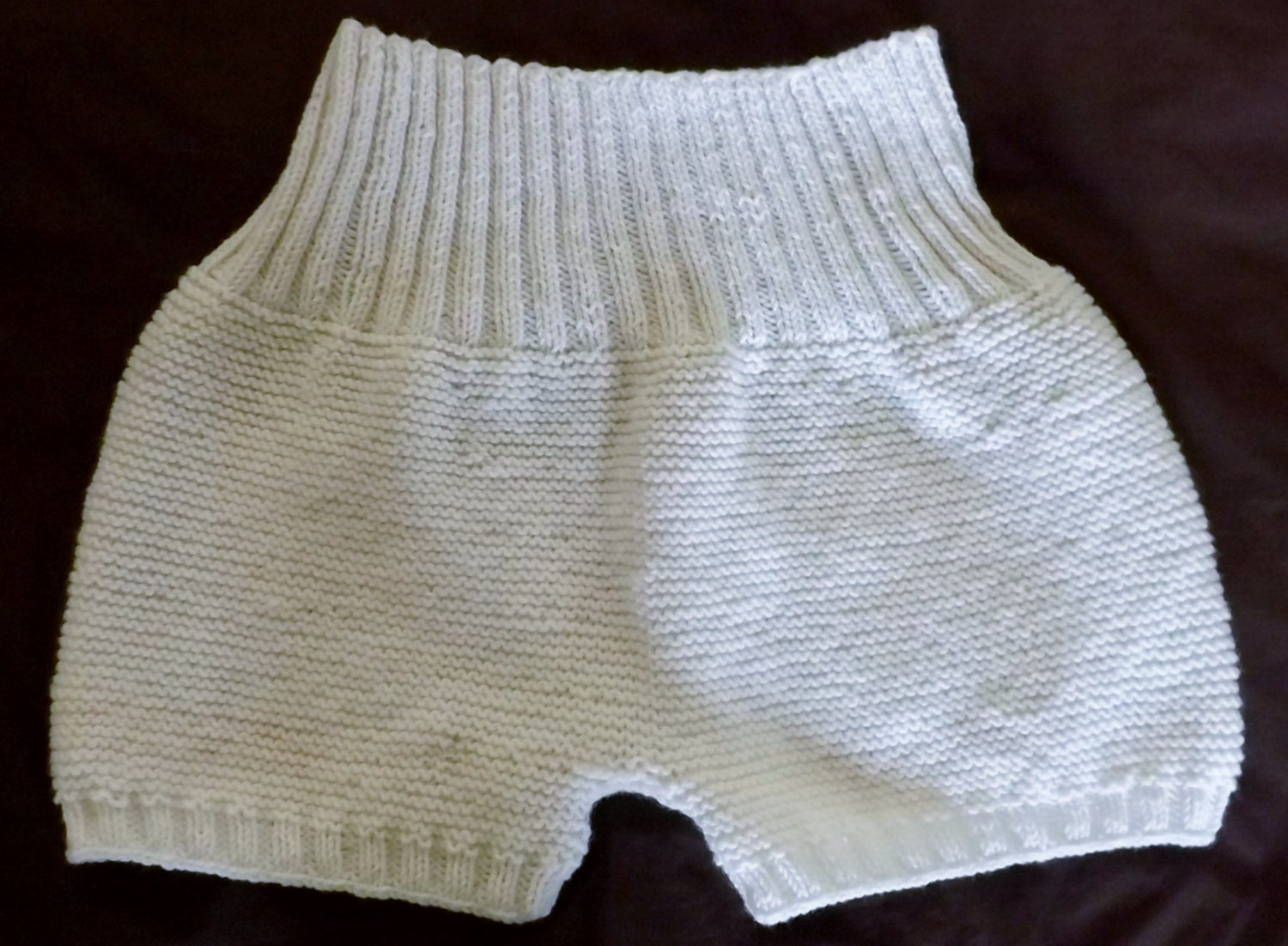 Knitting Pattern For Wool Diaper Covers : Hand knit adult wool diaper cover Adult wool soaker