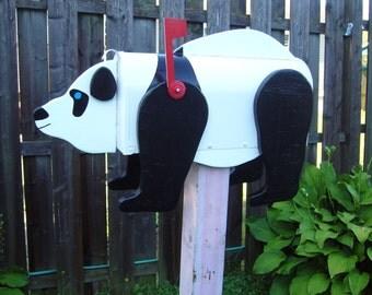 Wild animal mailbox - Panda Mailbox