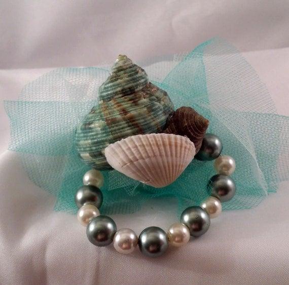 Mermaid seashell hair clip by madqueencostumes on etsy for Seashells for hair