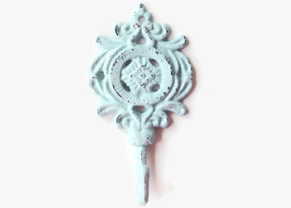 Items Similar To Decorative Wall Hook, Bath Towel Hanger, Beach Towel Hooks,  Childrens Coat Hook, Jewelry Display, Shabby Chic, Ornate Wall Hooks, ...