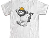 Where The Wild Things Are Monster 100% Cotton Shirt Men Women Children crown