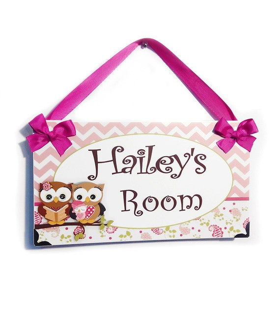 Personalized Baby Girl Bedroom Door Sign Parents And Baby