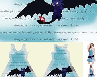 HowToTrainYourDragon Sleeveless Dress