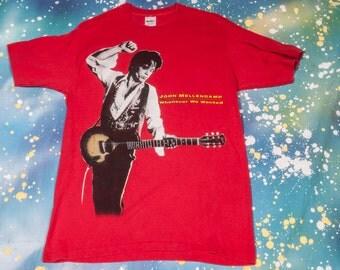 John Cougar Mellencamp 1992 Tour T-Shirt Size L