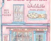 Wheelers Oyster Bar, Whitstable - A5 Print