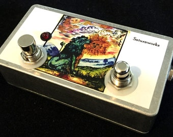 Saturnworks True Bypass Momentary Kill Switch Stutter Looper