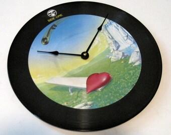 HEART - Magazine -  RARE Vinyl Record Album CLOCK - Picture Vinyl lp disc