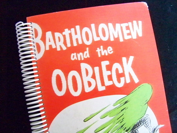 dr seuss bartholomew and the oobleck blank book diary journal