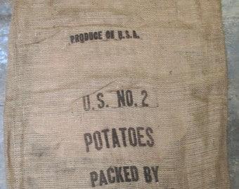 Vintage-Style-Burlap-Potato-Bag-Burlap-Sack-Gunny-Sack-30-1111 SALE!
