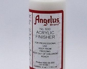 Angelus Flexible Acrylic Finisher For Leather Paint Etc