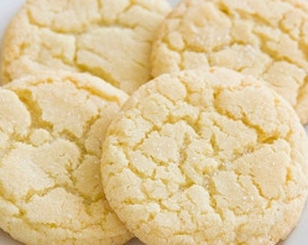 Gluten Free Sugar Cookies 2 Dozen Baked Fresh only when ordered