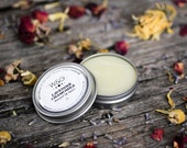 All Natural Lip Butter Essential Oils Lavender Chamomile Herbal Salve Beeswax Lip Balm Tin Scented Dream Balm Mothers Day Gift