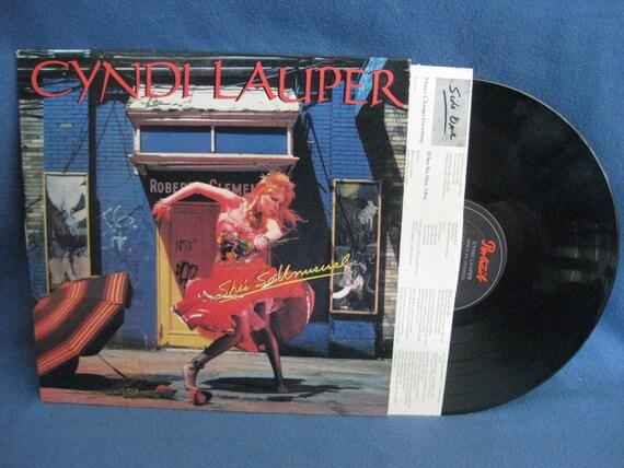 Cyndi Lauper She so Unusual Vinyl Vintage Cyndi Lauper She's