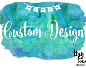 Custom Design (Invitation, Save the Date, Announcement), DIY Printable, digital file