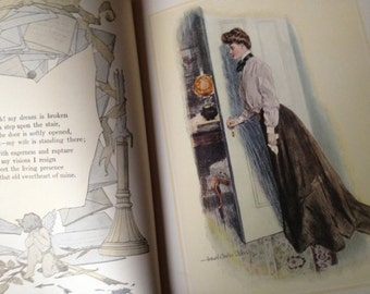 Victorian Ladies Book 1906 1st Edition Rare Book The Christy Girl by Howard Chandler Christy Indianapolis 18 Original Artwork Plates