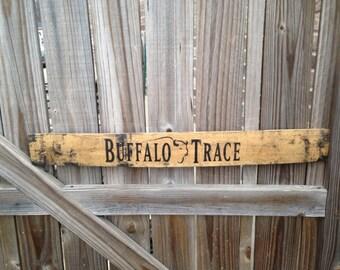 Buffalo Trace Bourbon Whiskey Barrel Stave