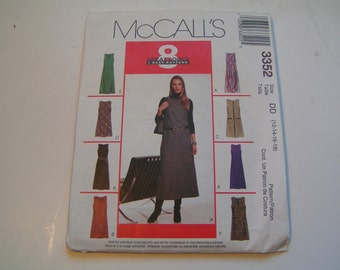 McCalls Pattern 3352 Miss Dress or Jumper in two lengths