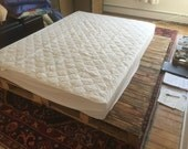 Queen Pallet Platform Bed