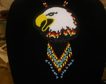 eagle necklace, pow wows, native american