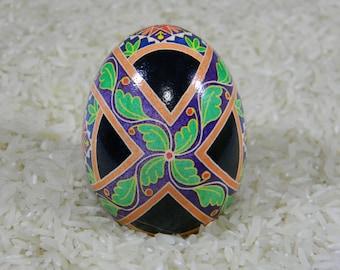 Crossed Leaf Bands  Ukrainian Egg