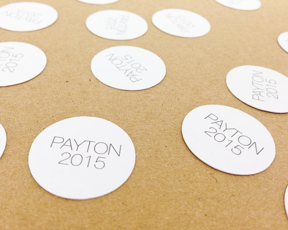 """100 Personalized Graduation Confetti - 1"""" - Custom Confetti, Grad, Graduation, Prom, Celebration, Grad 2015"""