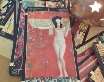 The Golden Tarot of Klimt - one tarot card reading
