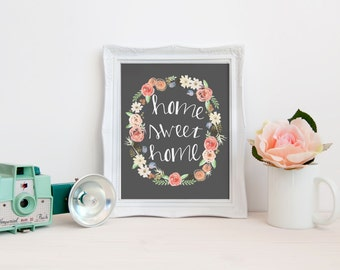 Home Sweet Home 8 x 10 printable
