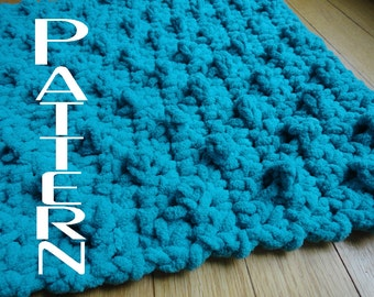 Crochet Pattern Bumpy Bath Mat Bathroom Rug DIY