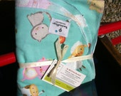 XL Single layer flannel receiving blanket. Perfect for the farm baby. Choose from 2