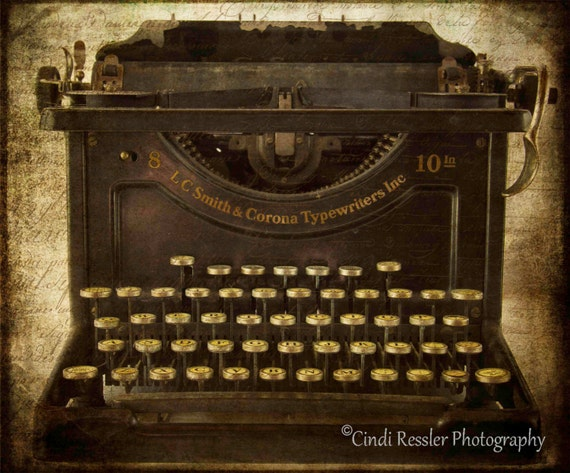 Smith & Corona Typewriter, Photography, Vintage Typewriter, Antique Typewriter, Still Life Photography