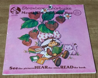 Strawberry Shortcake See Hear Read Album and Book