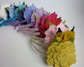 Dahlia Flower Headband for Girls