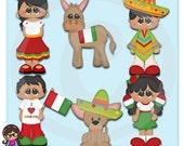 2015 Kids Of The World Mexico  Clip art  Clipart Graphics  Commercial Use