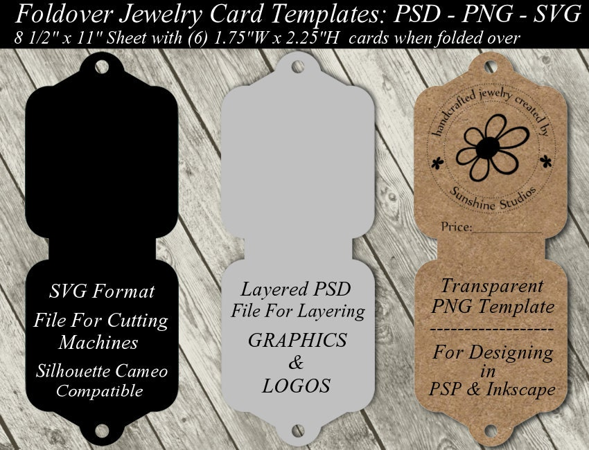 It's just a graphic of Peaceful Free Printable Earring Card Template