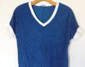 Royal Blue Terry Tee