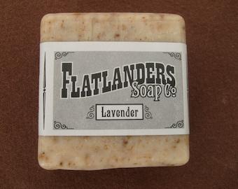 Lavender Handmade Soap - Medium