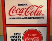 VALENTINESALE Coca-Cola Square Cookie Jar or Container