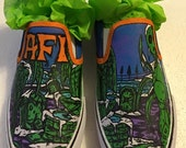 Custom Hand Painted AFI shoes