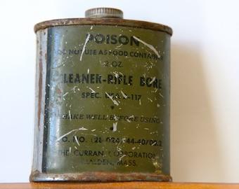 American gun oil tin