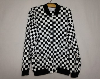 checkered jacket size L