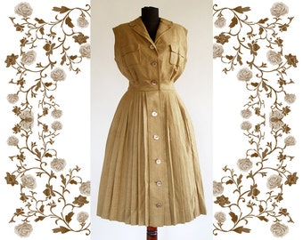 1960's HEINZ OESTERGAARD Vintage Dress