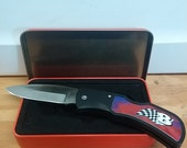Dale Earnhardt knife, 8, collectible knife, pocket knife