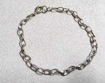 Charm Bracelets Chain Bracelets Link Bracelets Antiqued Silver Link Chains Wholesale Bracelets Wholesale Chain-50pcs