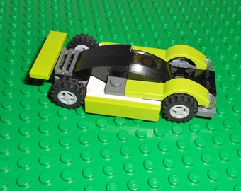 Lego Race Car - Mean Green - Authentic Lego Parts