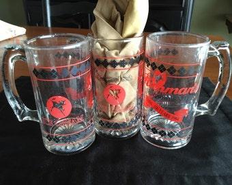 Richman's of Sharptown, New Jersey Mugs - three of them