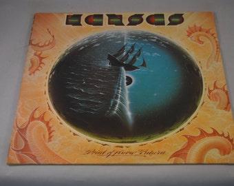 Vintage Record Kansas: Point of Know Return Album AL-34929