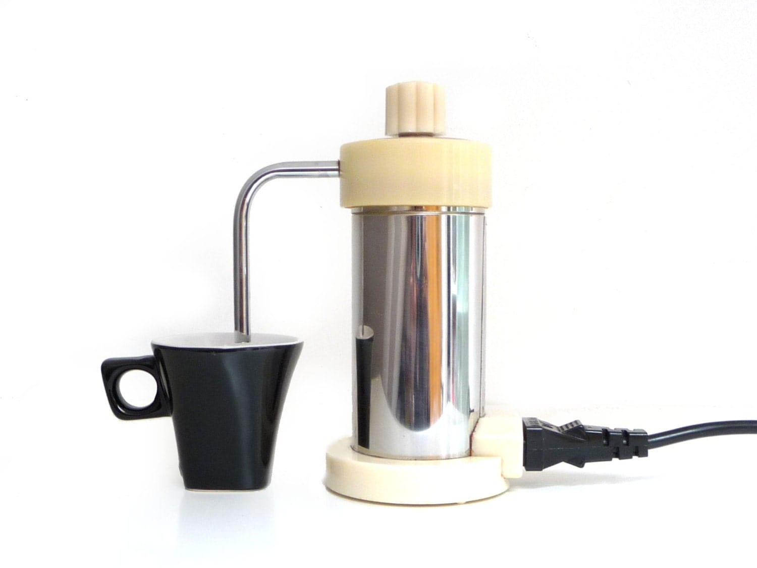 vintage electric espresso coffee maker percolator italian. Black Bedroom Furniture Sets. Home Design Ideas