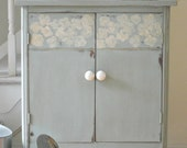 Farmhouse Record Cabinet